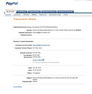 Opinion-outpost-Paypal_payment
