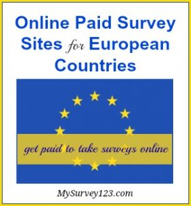 European online surveys for money - get paid to take surveys!