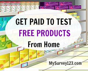 Get paid to test products at home and earn money! You can get earn extra money (cash via paypal or check, or gift cards) for trying and review new products at home!