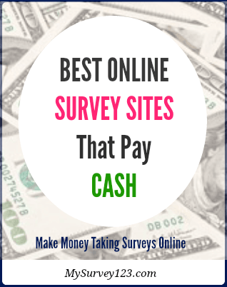 best surveys that pay cash via Papal or check