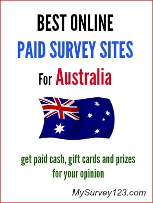 either cash, gift cards and/or prizes for taking online surveys ...
