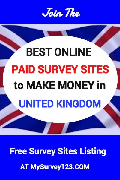 United Kingdom Paid Surveys