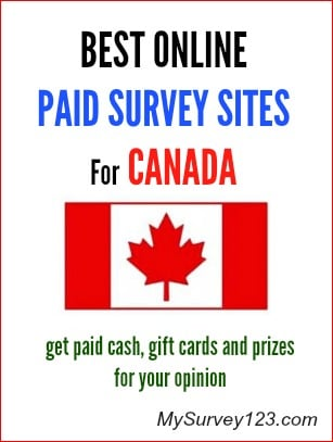 best canadian online paid surveys for money