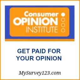 Consumer Opinion Institute - Sign Up & Take Surveys for Cash!