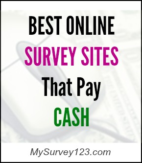 best surveys that pay cash