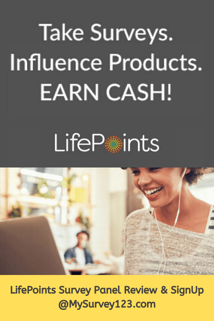 Join LifePoints Survey Panel and Make Money taking Online