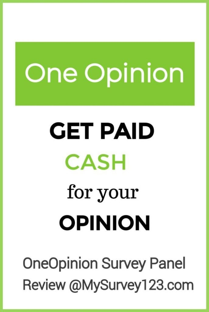 Get Paid Cash to Take Surveys at OneOpinion Survey Panel!