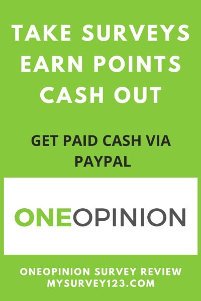 OneOpinion Review - Earn Cash Taking Online Surveys