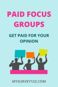 Paid Focus Group Leads - get paid for your opinion online