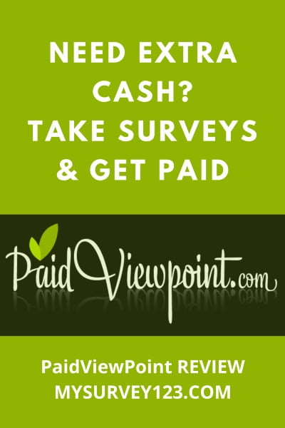 PaidViewPoint Surveys Review - Earn Cash for taking surveys!