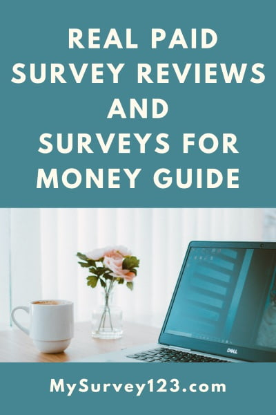real paid survey reviews + surveys for money guide