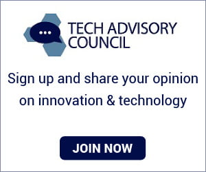 Tech Advisory Council - share opinion on technology & earn rewards